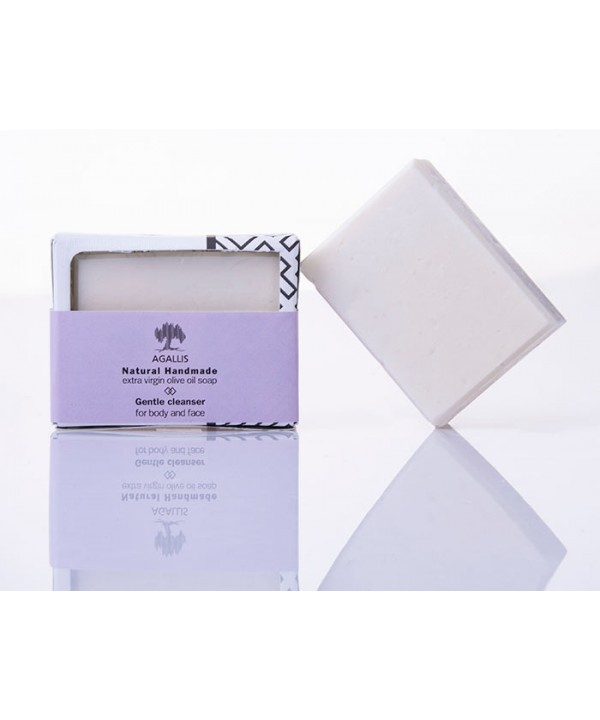 AGALIS Classic bar soap made from extra virgin olive oil,