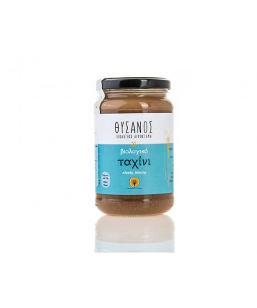 THYSANOS   Organic Wholegrain Tahini  370 gr