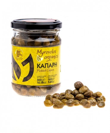 Myrovolos Organics - pickled caper