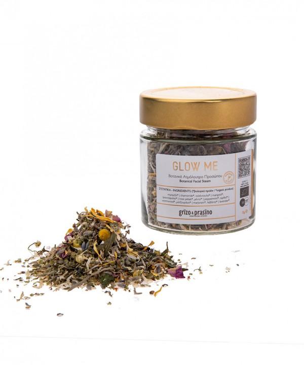 Grizo & Prasino – Glow me, Herbal Facial Steam