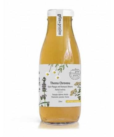 Grizo Prasino – Thema Chronou, 250ml, iced herbal teas, without sugar