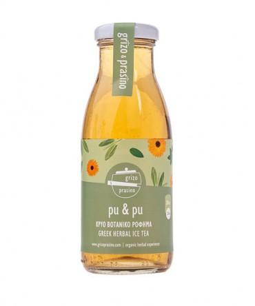 Grizo Prasino – pu & pu, , 250ml, iced herbal teas, with sugar