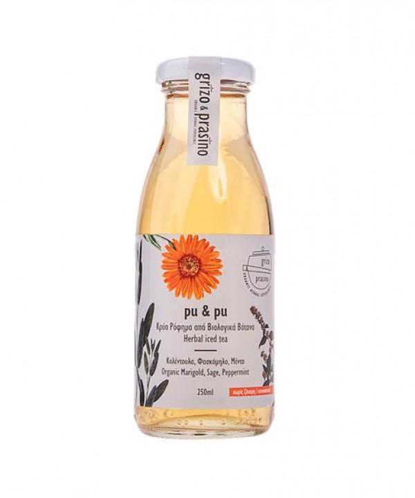 Grizo Prasino – pu & pu, 250ml, iced herbal teas, without sugar