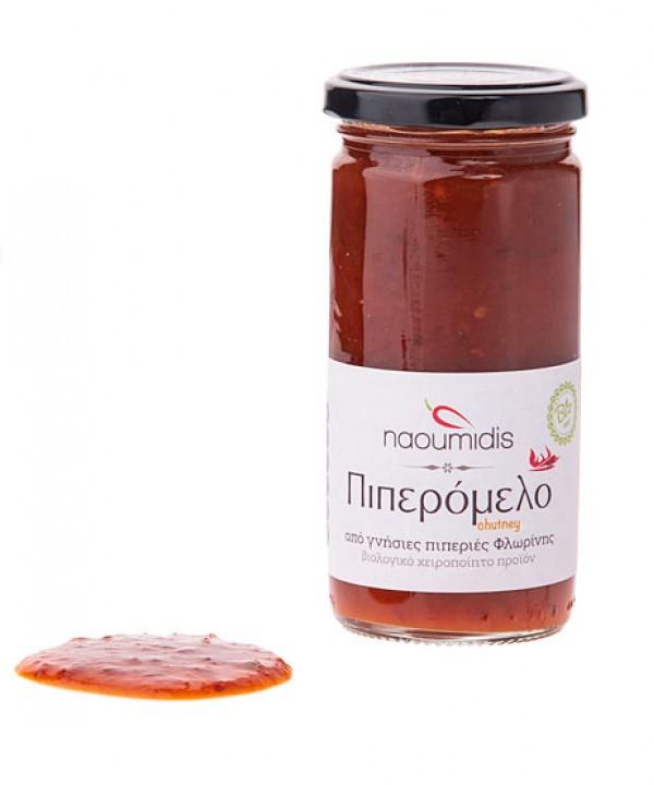 Naoumidis - Piperomelo Ηot (chutney) Organic, 260 gr